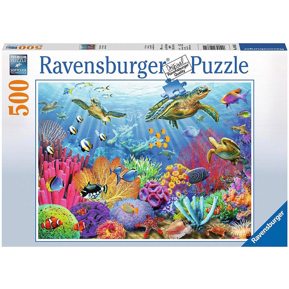 Ravensburger Tropical Waters 500-Piece Puzzle
