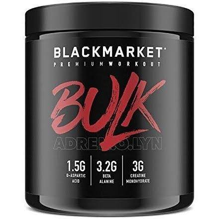 Blackmarket Labs Adrenolyn Bulk Pre-Workout (Watermelon - 30 Servings)