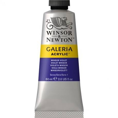 Winsor and Newton 60ml Galeria Acrylic Paint - Winsor Violet
