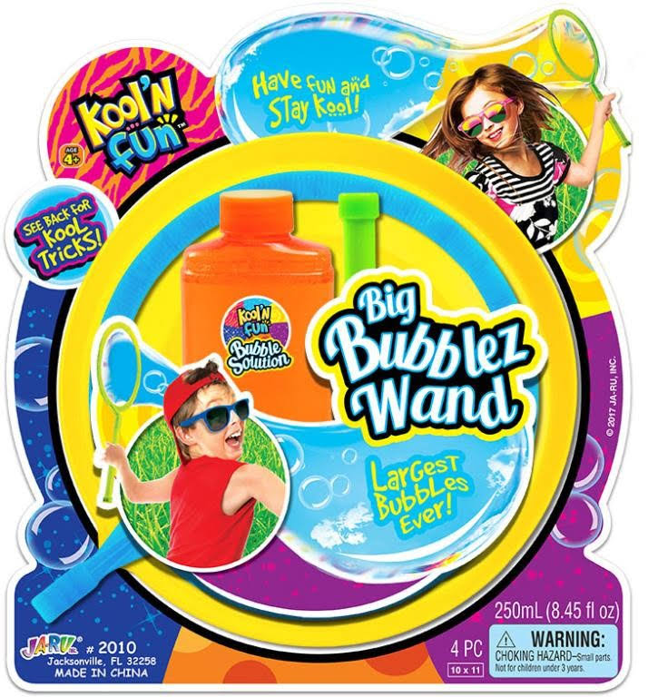 Kool 'N Fun Big Bubblez Wand Kit