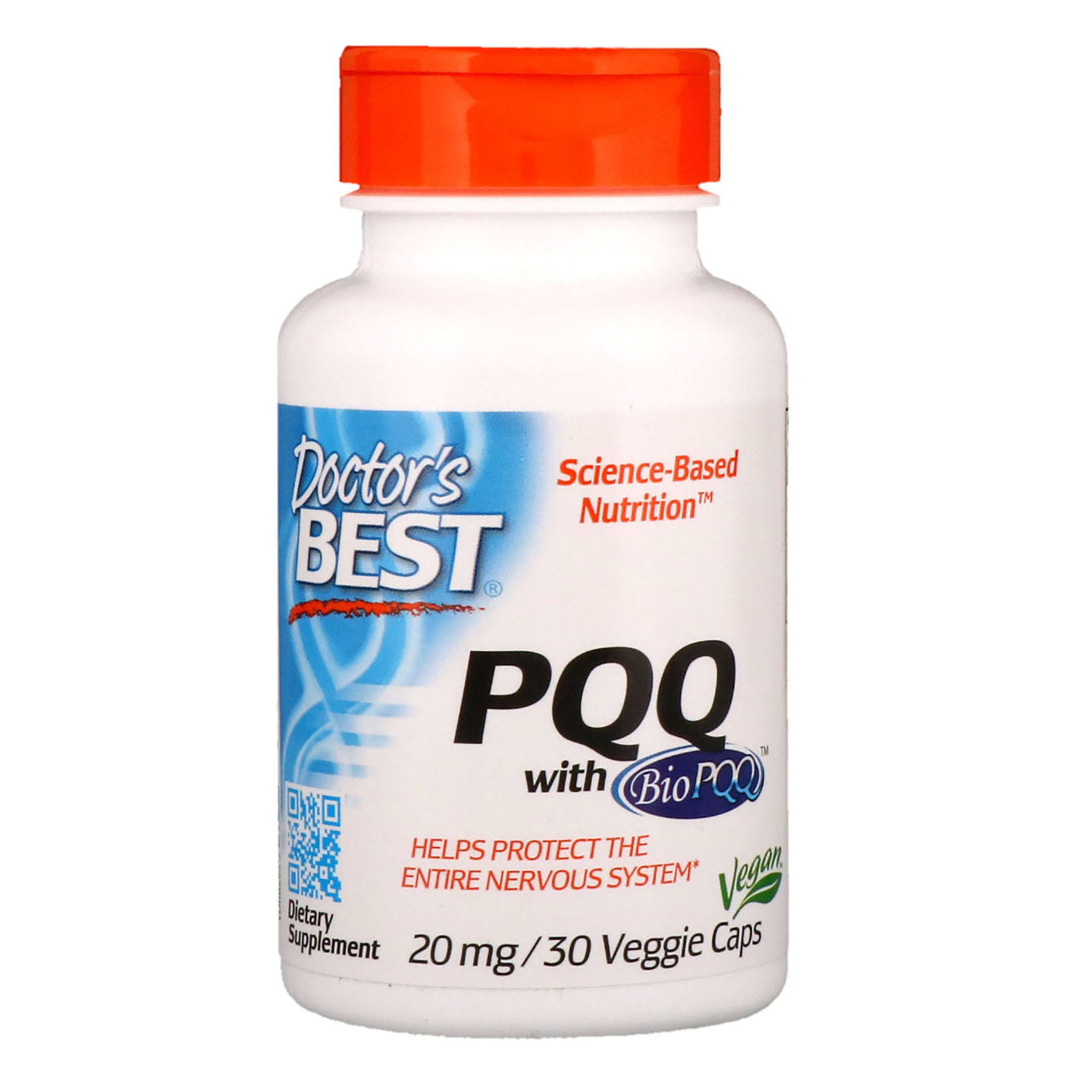 Doctor's Best PQQ Nutritional Supplement - 20mg, 30ct