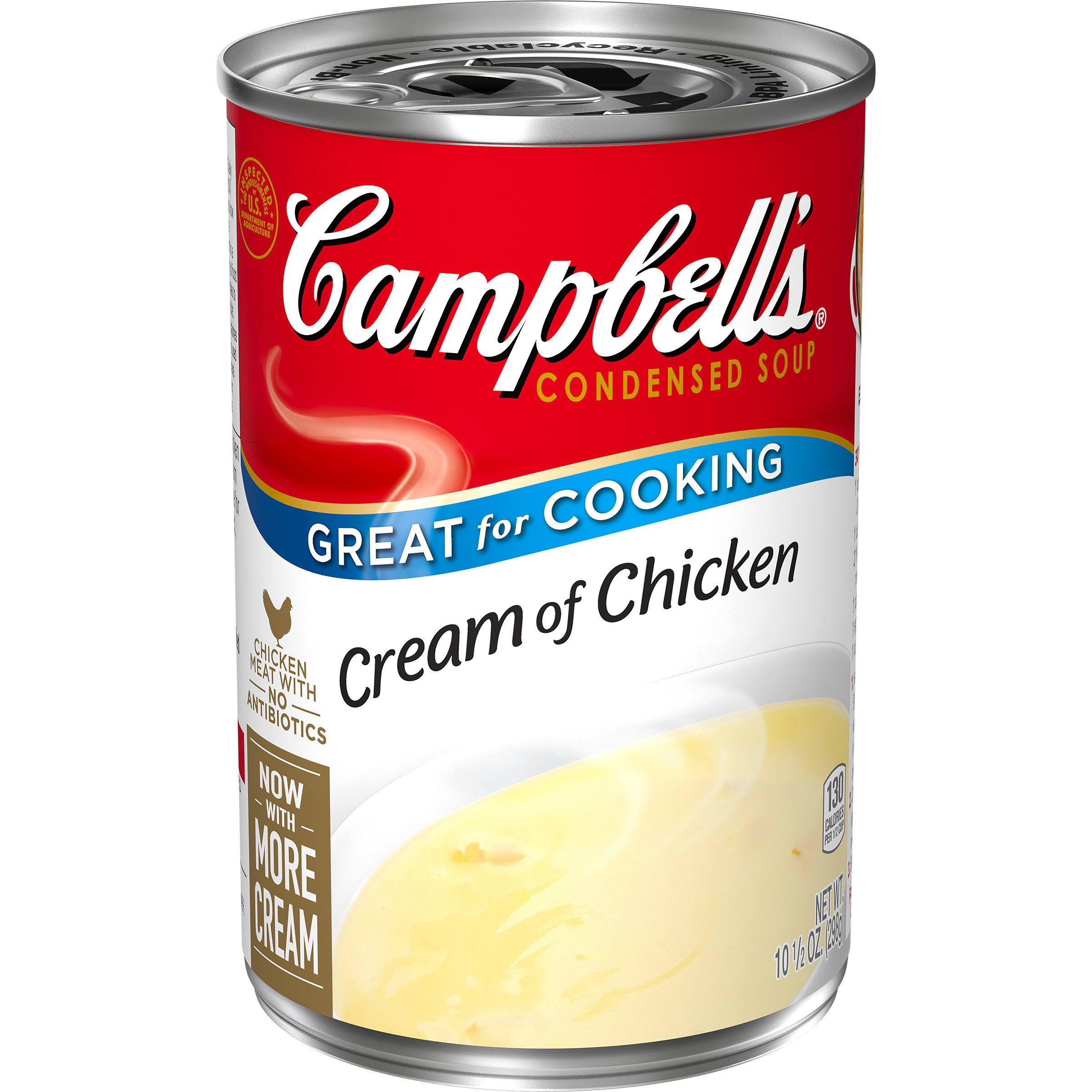 Campbell's Condensed Soup - Cream of Chicken, 10.5oz