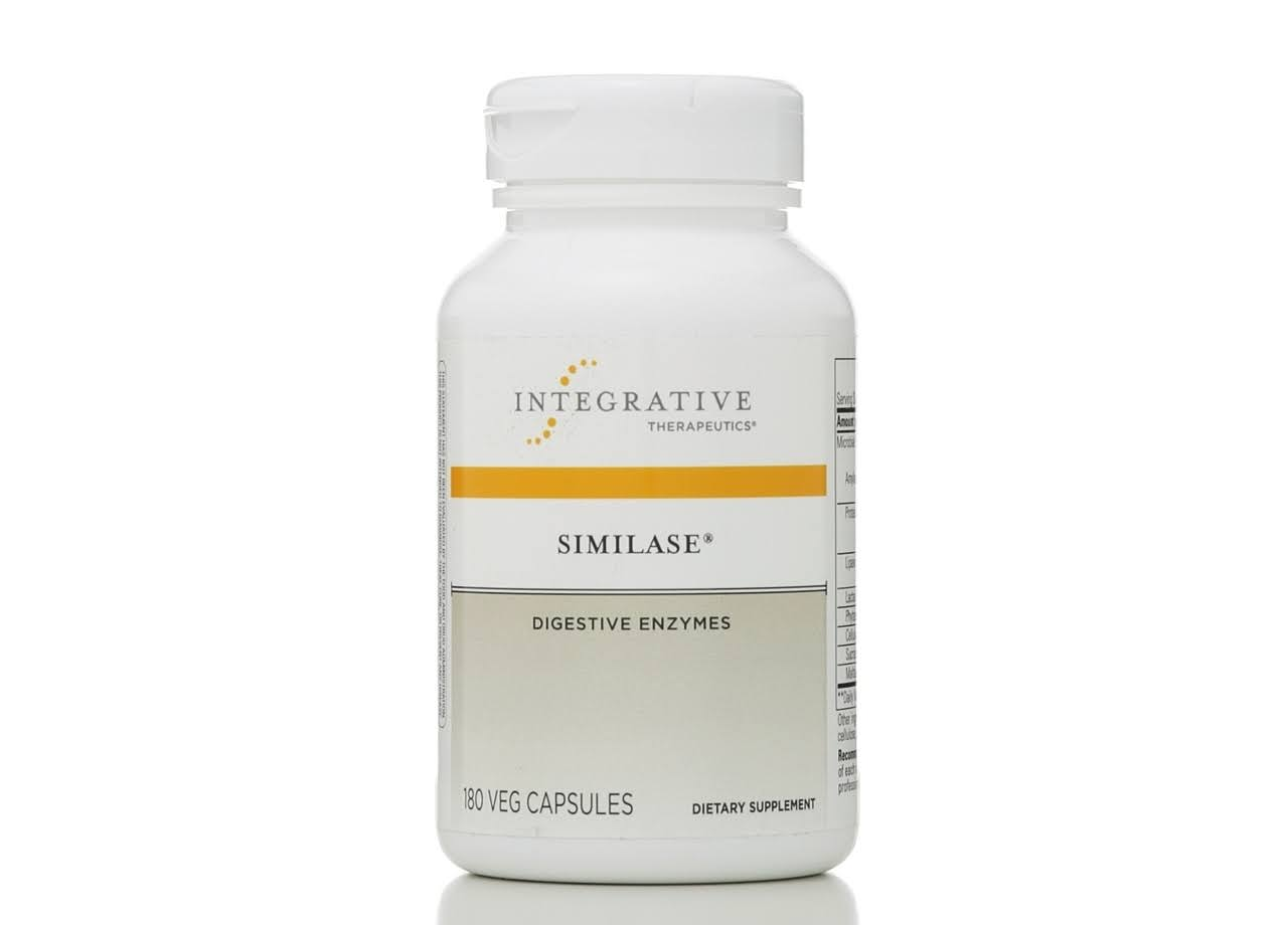 Integrative Therapeutics Similase Digestive Enzymes Dietary Supplement - 180ct