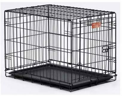 "Midwest iCrate Single Door Folding Dog Crates - 30"" X 19"" X 21"""