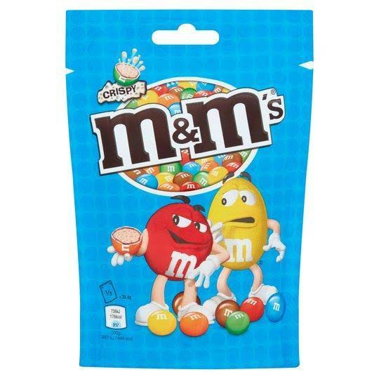 M and M's Crispy Chocolate - 107g