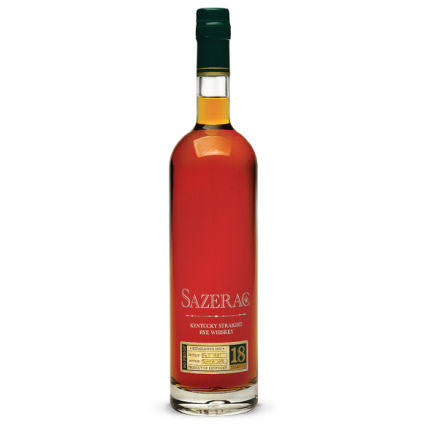 Sazerac Rye 18 Year Old Whiskey 75cl