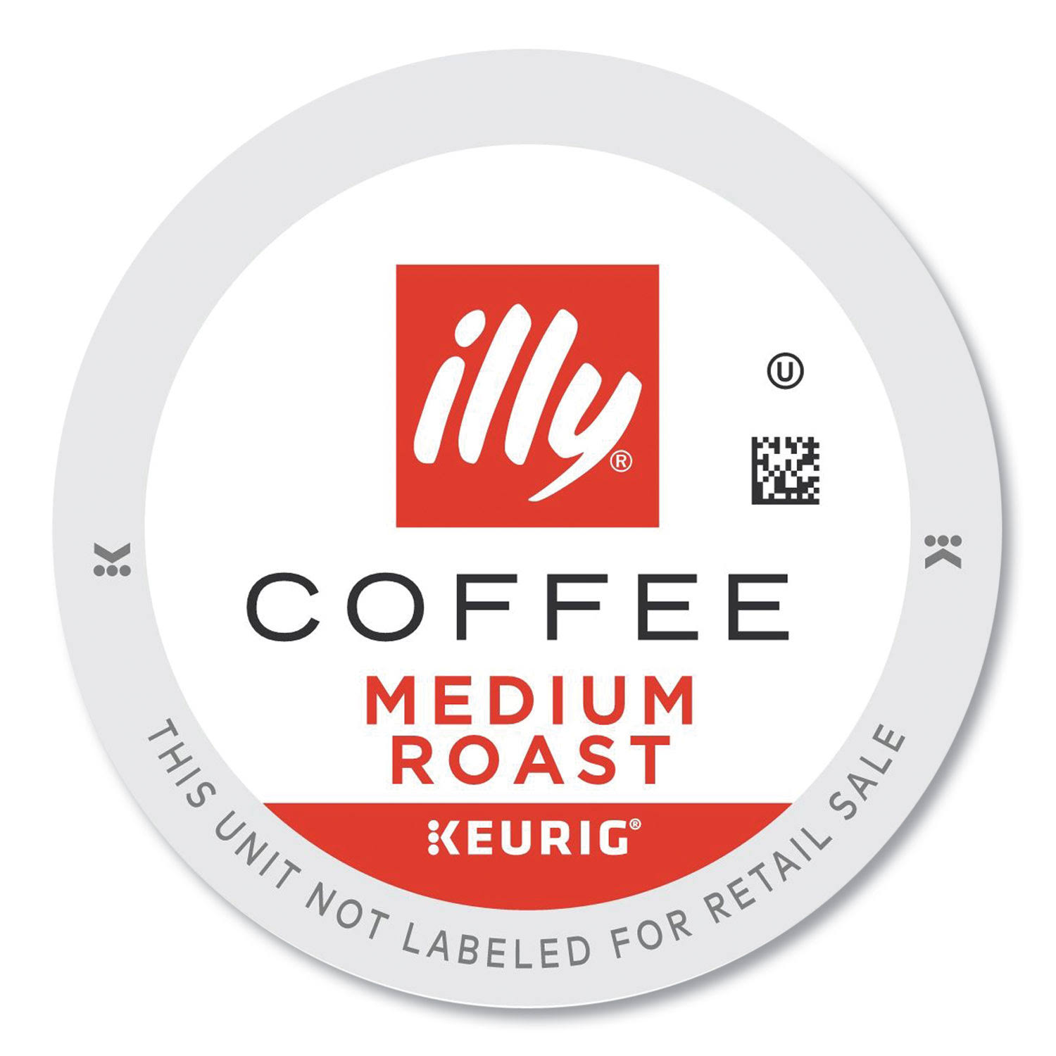 Illy 7790 Coffee K-Cup Pods, Medium, 20/Box - Box of 20