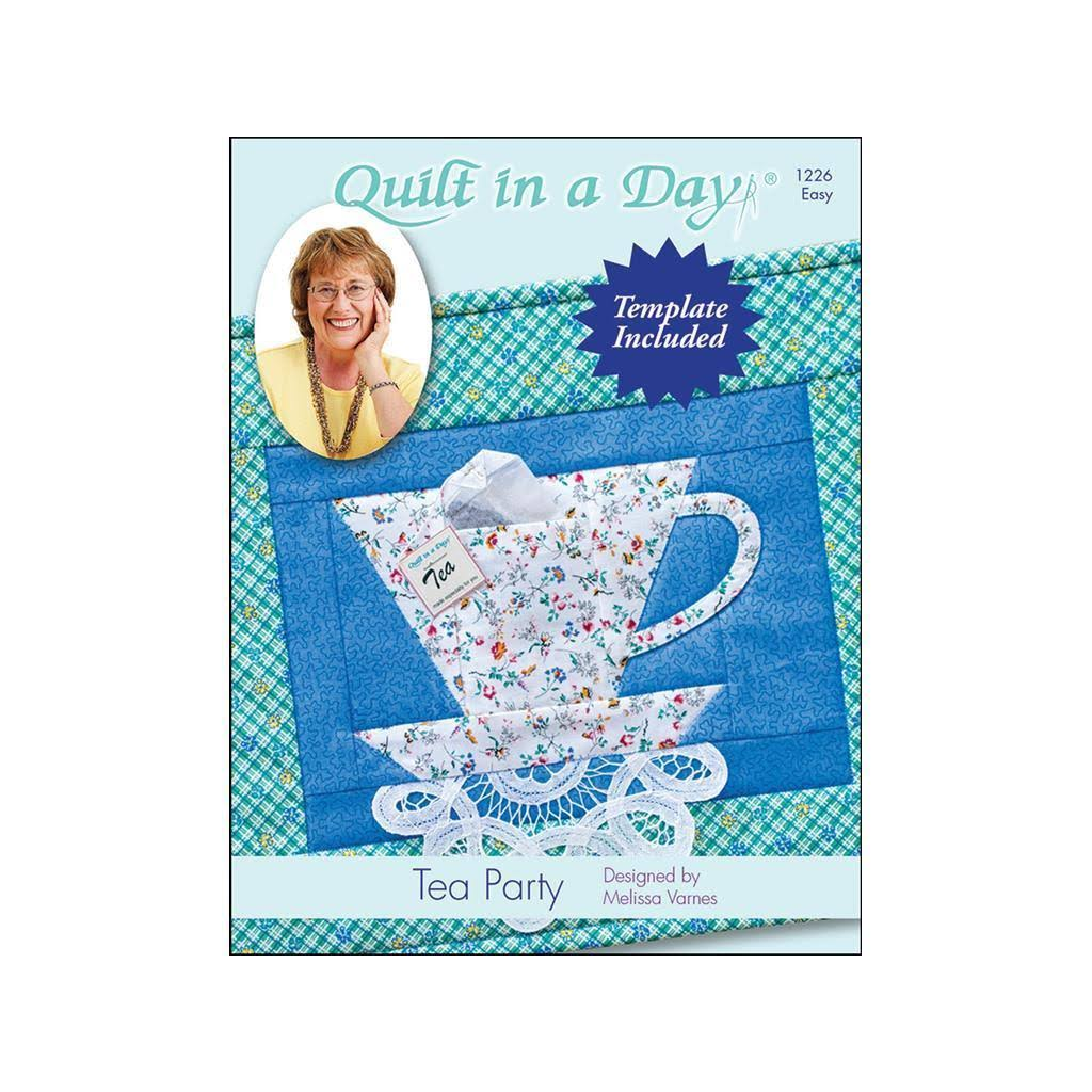 "Quilt In A Day Tea Party Pattern - 14"" x 29"""