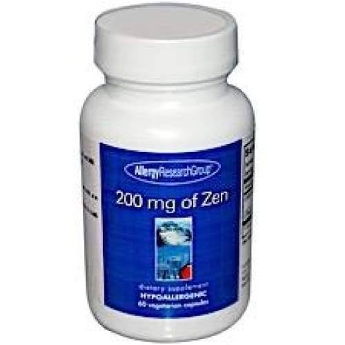 Allergy Research Group Zen Supplement - 200mg, 60ct