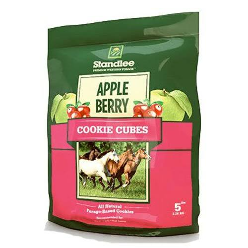 Standlee Hay Company Cookie Cubes Treats - Apple Berry, Size 5