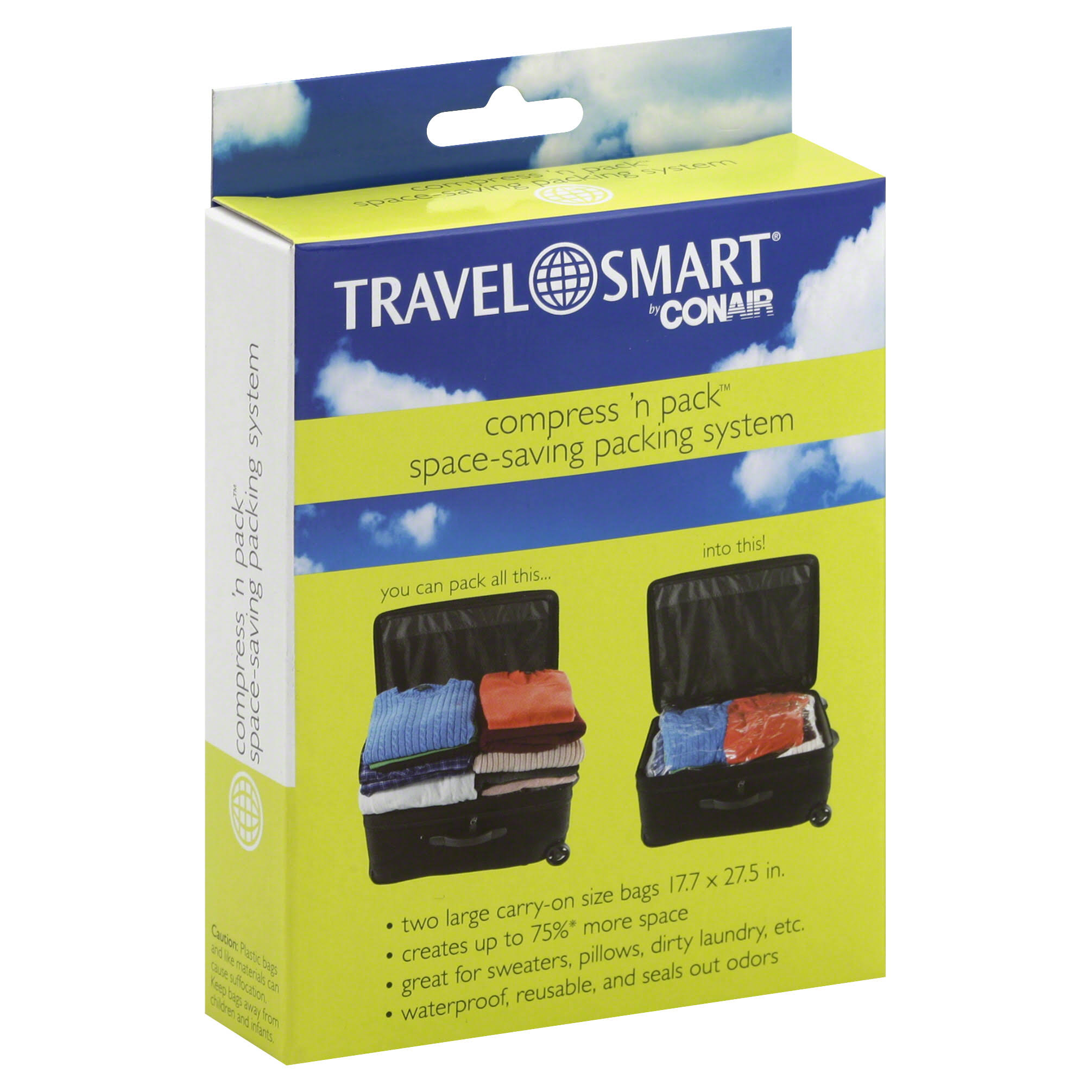 Travel Smart Compress 'n Pack