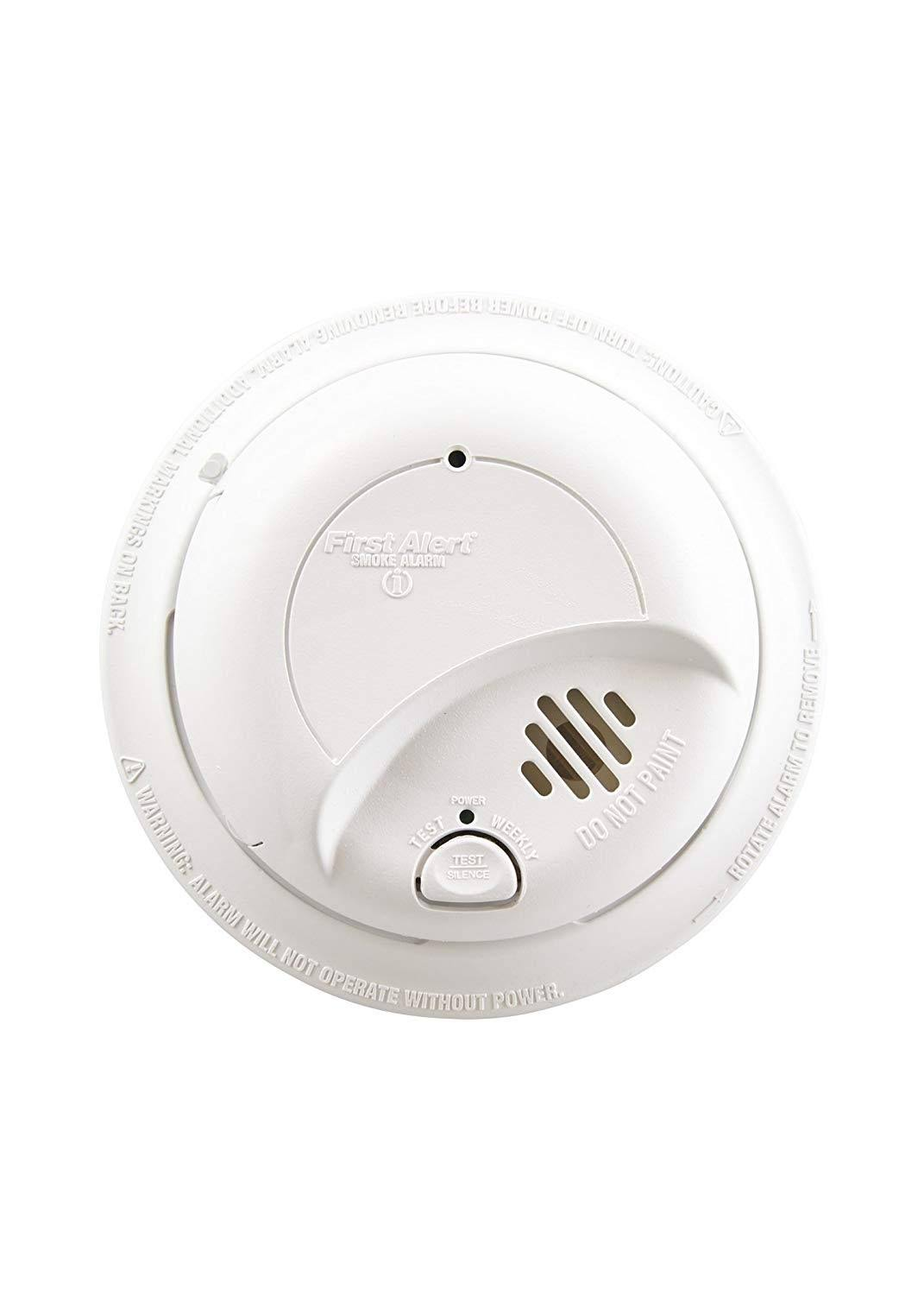 First Alert Hard Wired Ionization Smoke Alarm - White
