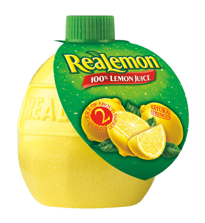 Realemon 100% Lemon Juice - 2.5 fl oz