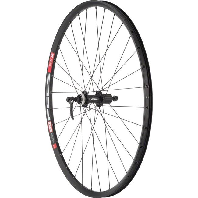 "Quality Wheels Mountain Disc Rear Wheel DT 533d Deore M610 29"" QR 135mm Black"