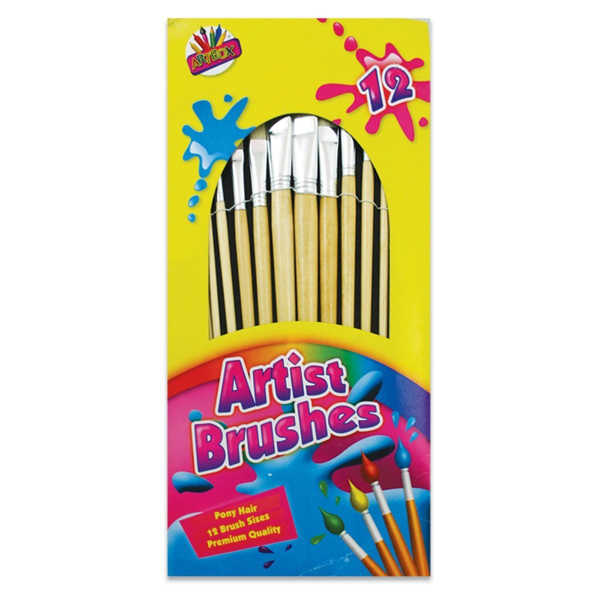 Tallon Artists Brush Set - 12 Pack