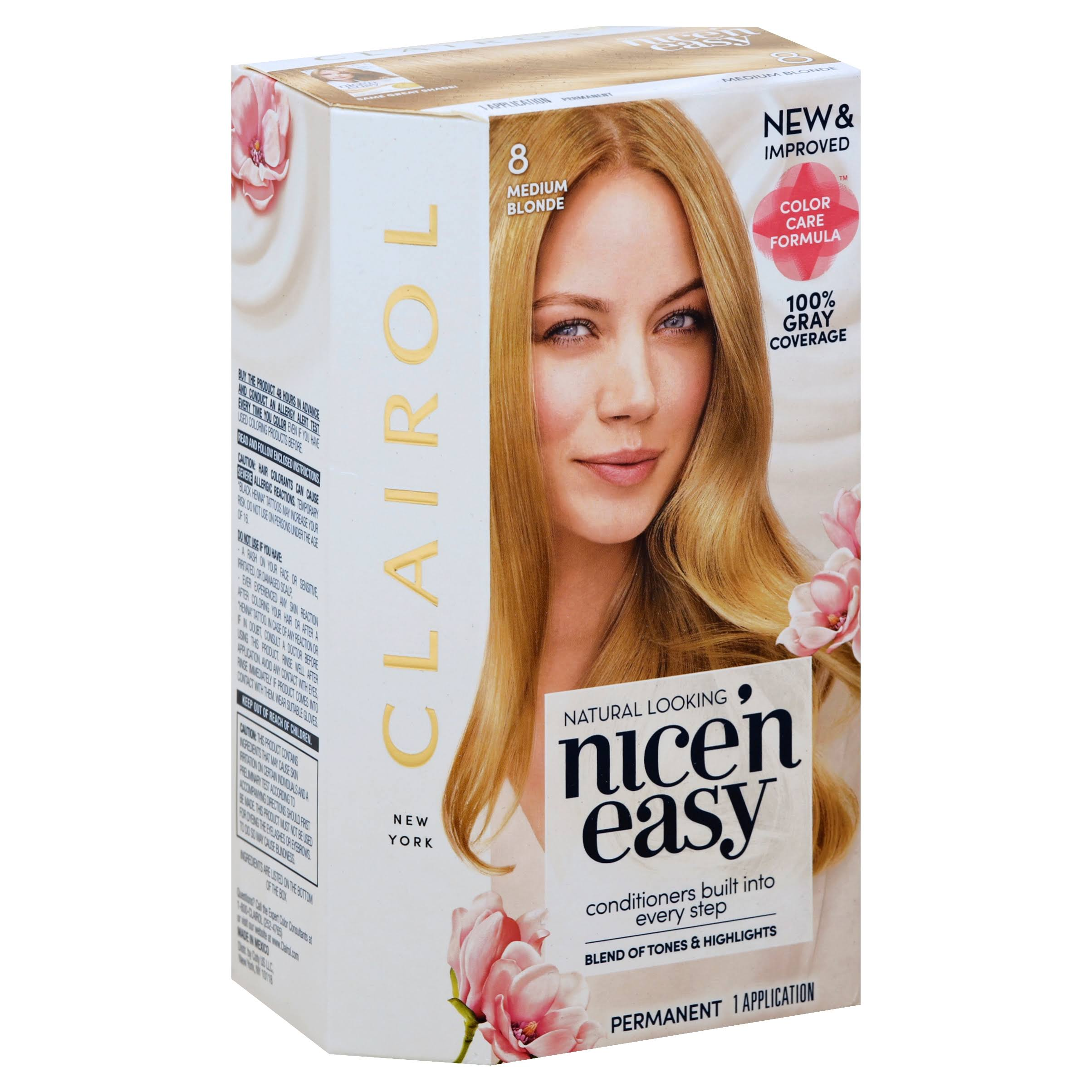 Clairol Nice N Easy Permanent Hair Color - 8 Medium Blonde