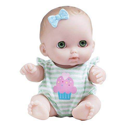 JC Toys Lil Cutesies Doll Baby Toy - Green Eyes