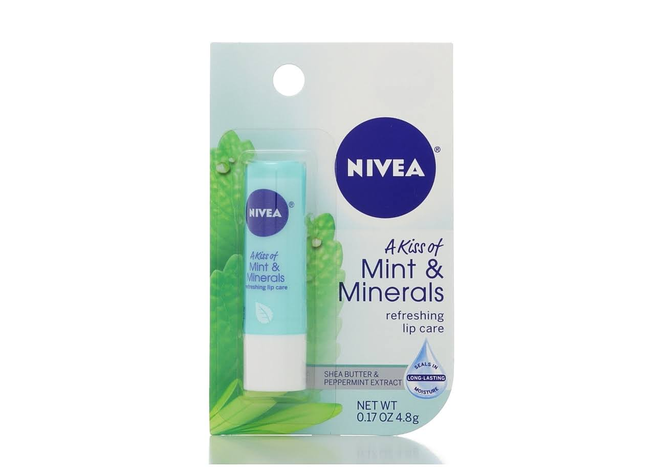 Nivea Mint and Minerals Lip Care - 0.17oz