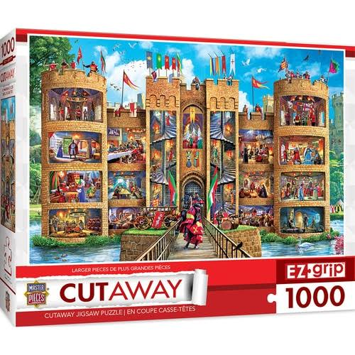 Masterpieces Cut Aways EZ - Medieval Castle 1000 Piece Puzzle