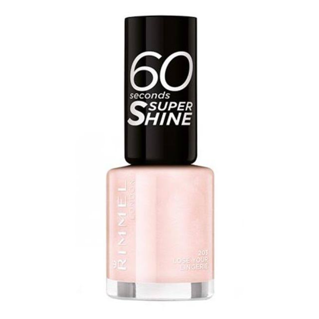 Rimmel London 60 Seconds Super Shine Nail Polish - 203 Lose Your Lingerie, 8ml
