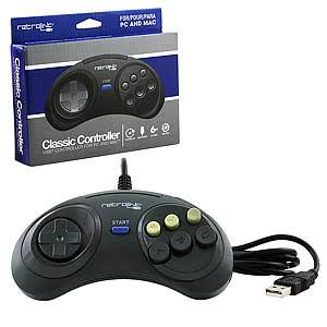 Retrolink Sega Genesis Style 6-Button USB Controller for PC & Mac