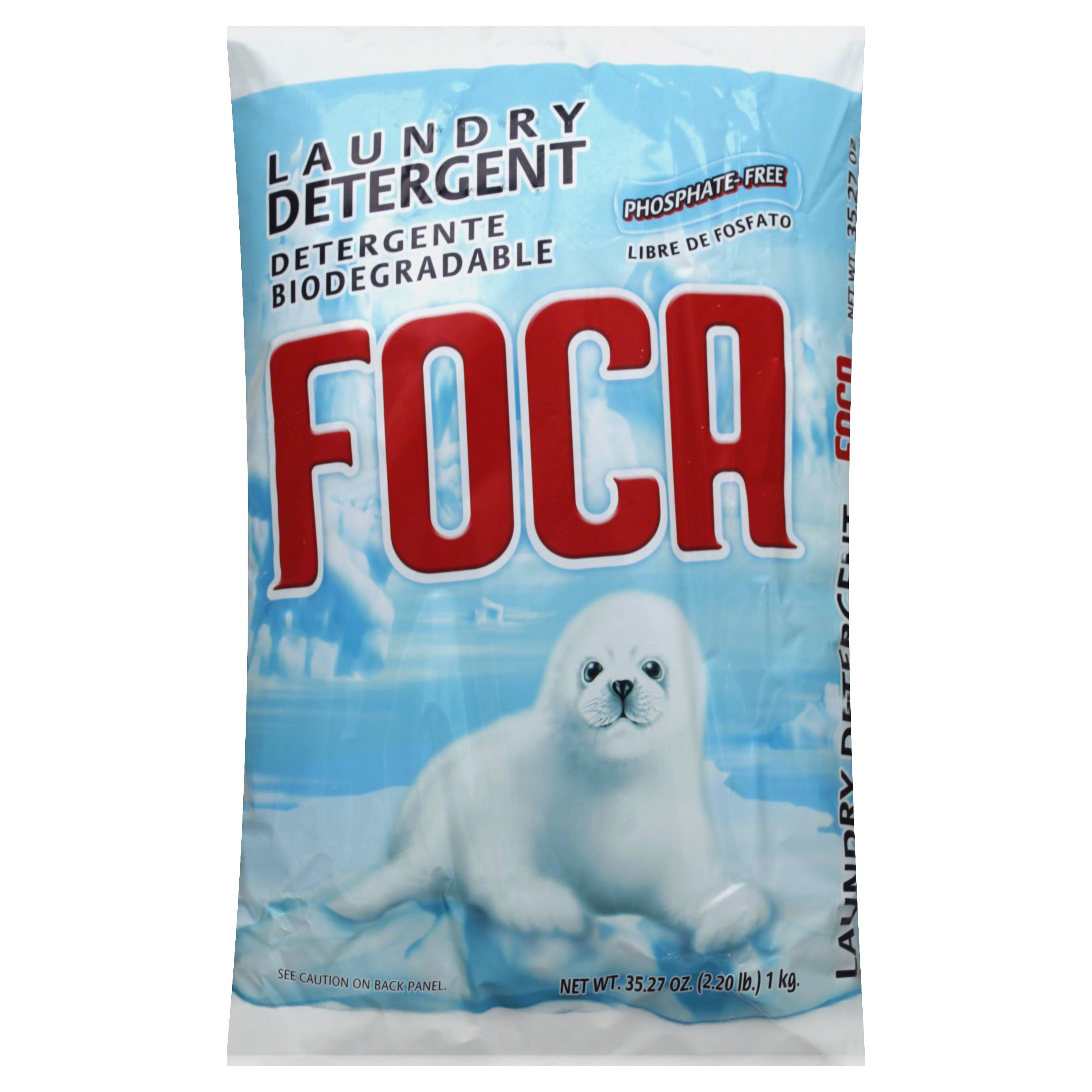 Foca Biodegradable Laundry Detergent - 35.27oz