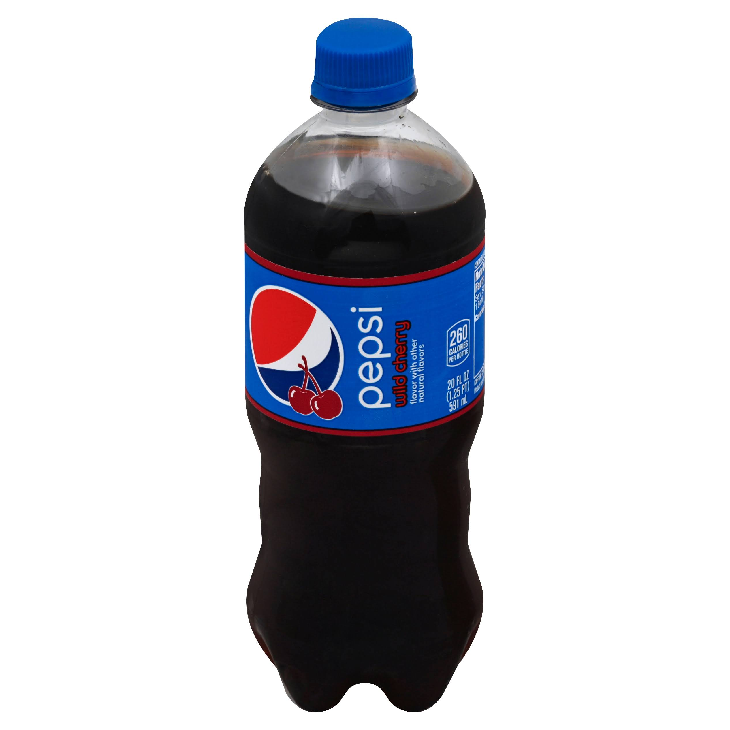Pepsi Wild Cherry Cola - 20 oz