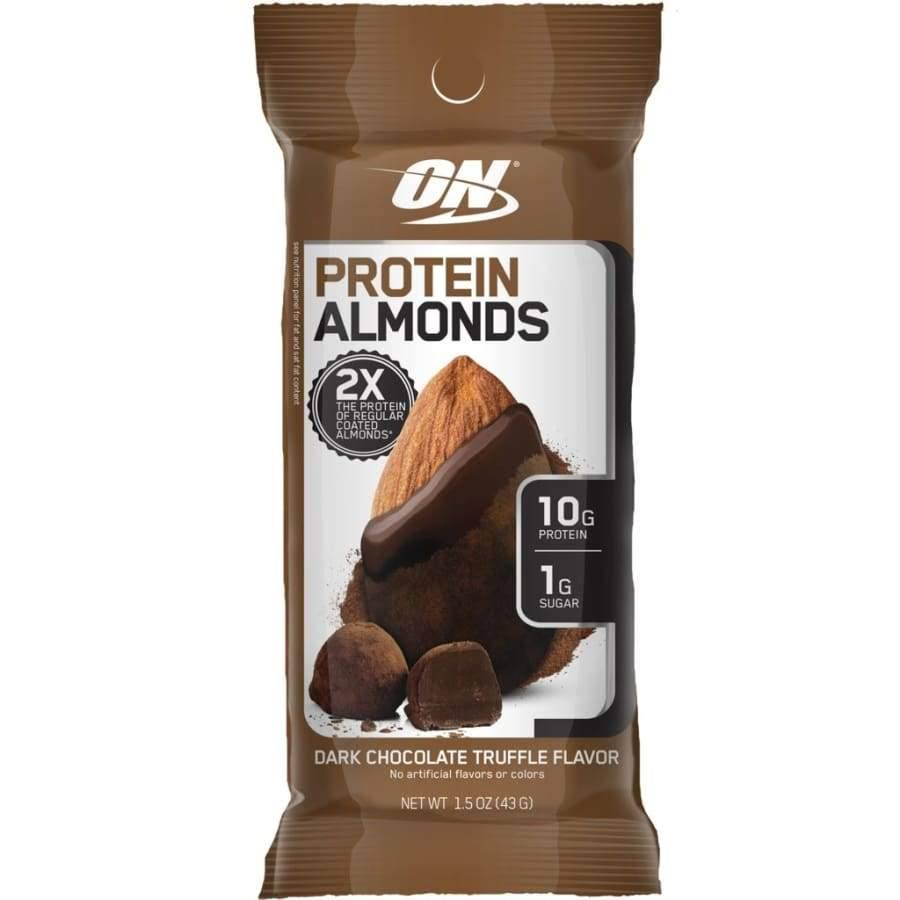 Optimum Nutrition Protein Almonds - 1 Pack Dark Chocolate Truffle