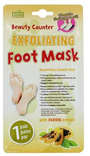Beauty Counter Exfoliating Foot Mask - 1 pair