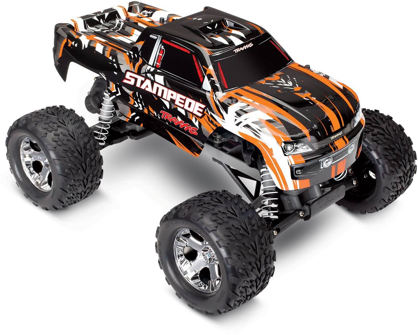 Traxxas 1/10 Stampede Monster Truck Rtr: Orange