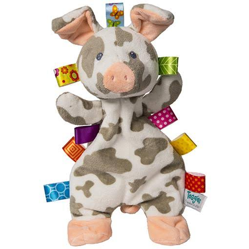 Taggies Patches Soft Plush Baby Toy - Pig Lovey