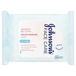 Johnson's Make-Up Be Gone 5 in 1 Moisturising Cleansing Wipes - 25 Wipes