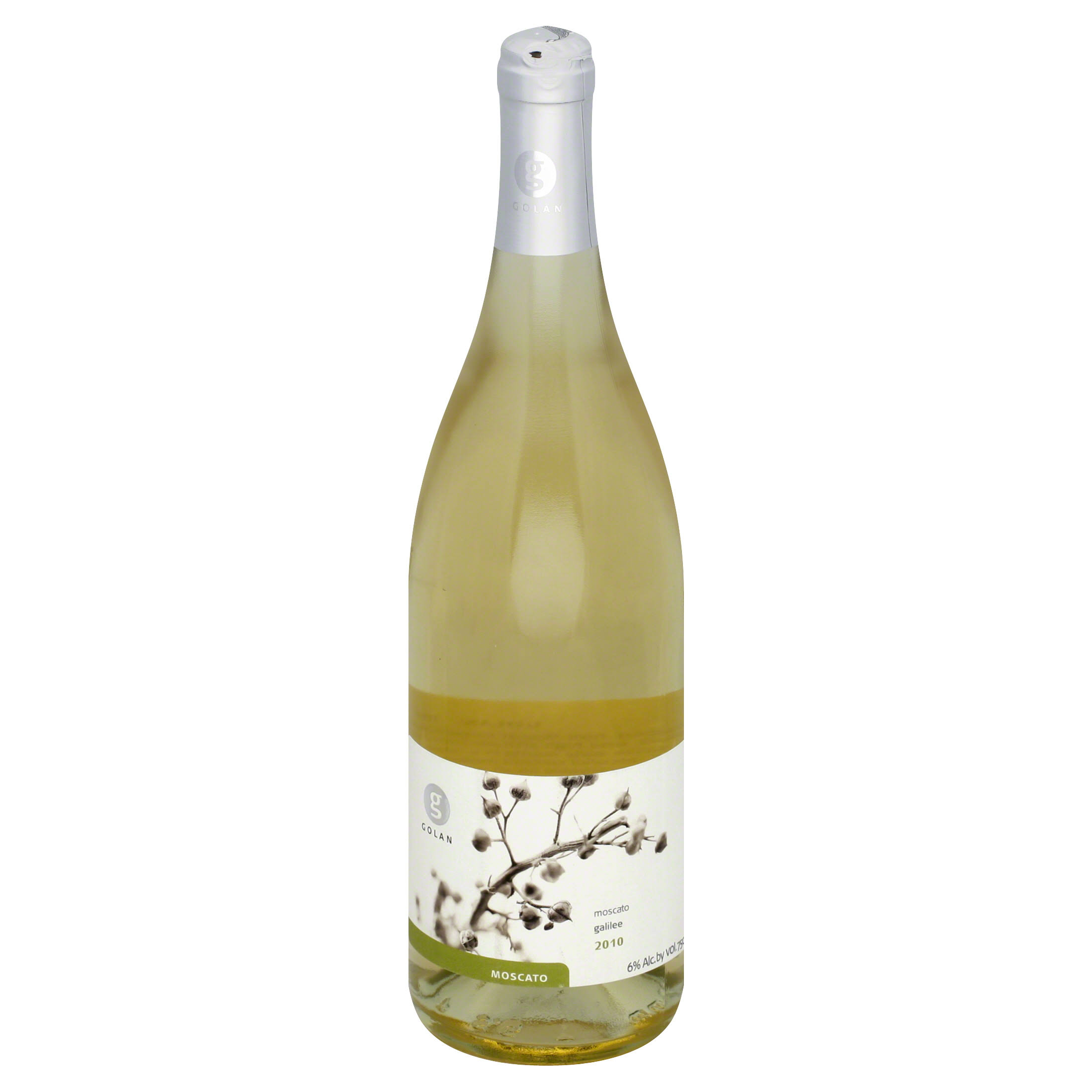Golan Moscato, Galilee, 2010 - 750 ml