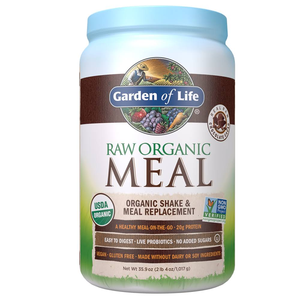 Garden Of Life Raw Meal Chocolate - 1.2kg