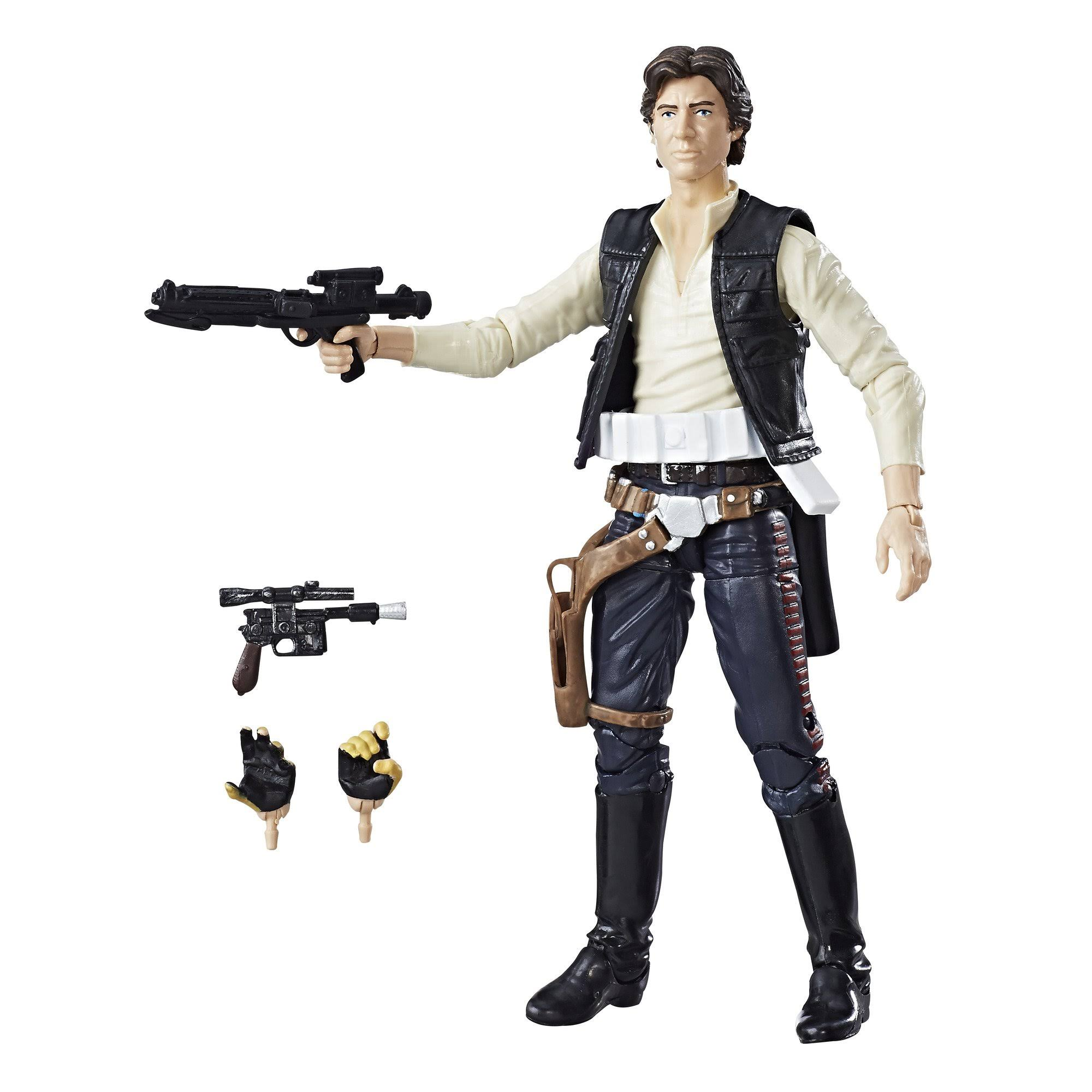 Star Wars The Black Series 40th Anniversary Figure - Han Solo, 6""