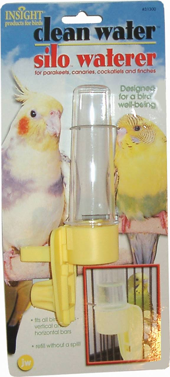 JW Pet Company Clean Water Silo Waterer Bird Accessory - Regular