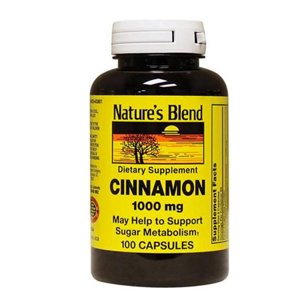 Nature's Blend Cinnamon 1,000mg