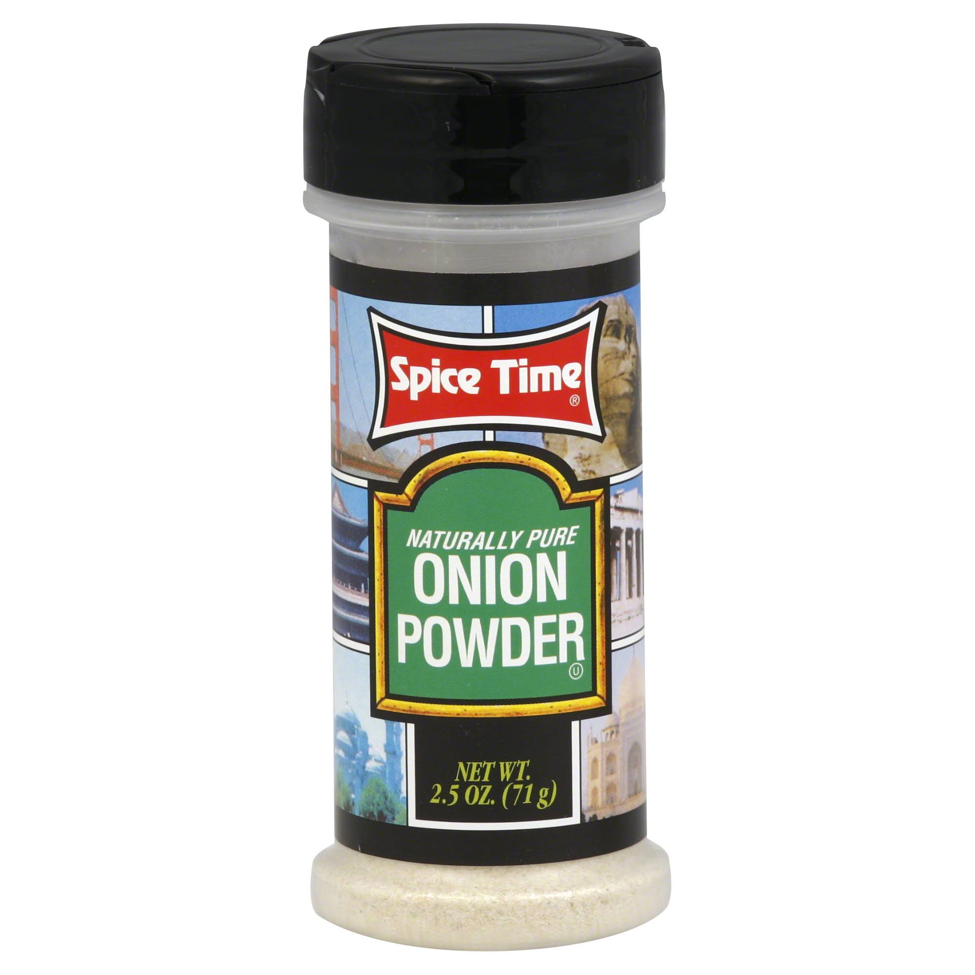 Spice Time Onion Powder - 2.5 oz