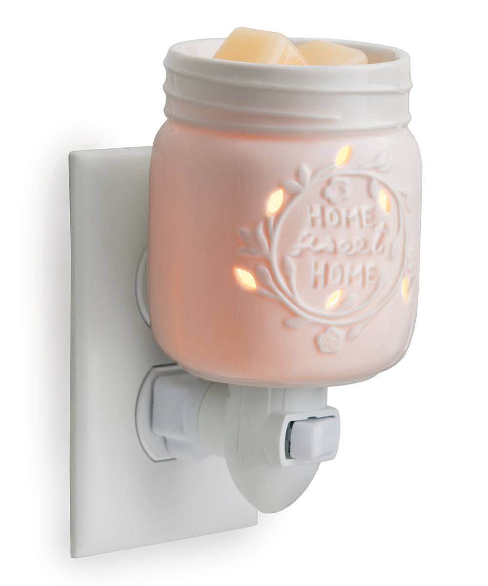 Candle Warmers Pluggable Fragrance Warmer Mason Jar