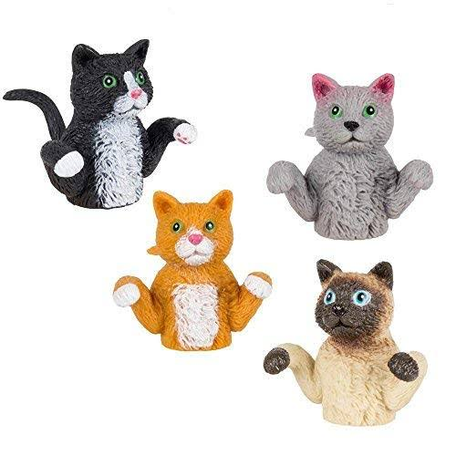 Accoutrements Finger Cats Finger Puppets Black