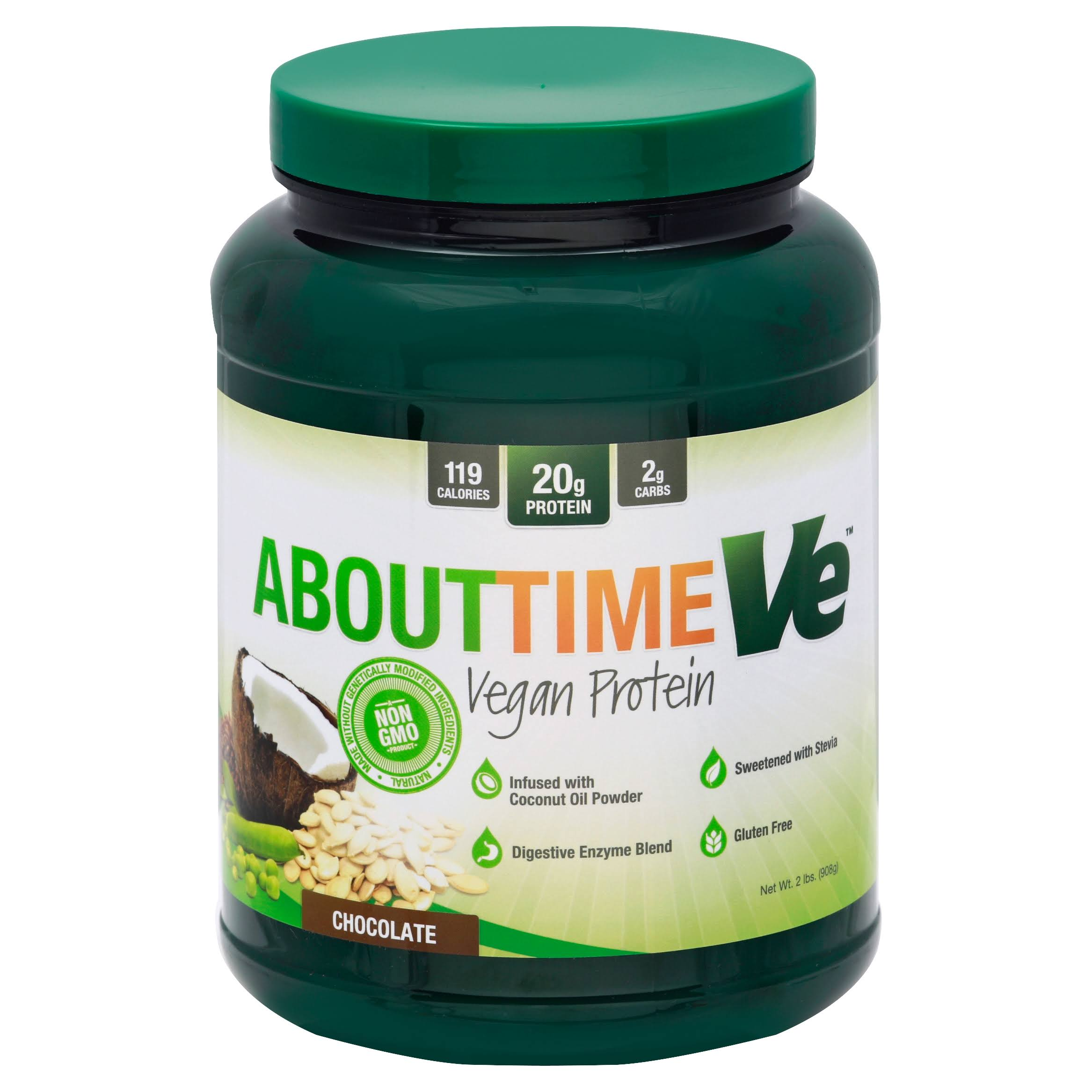 About Time Ve Vegan Protein Powder - Chocolate