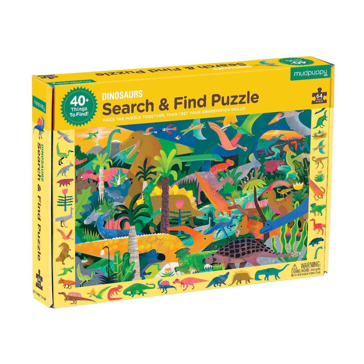 Dinosaurs Search and Find Puzzle - Mudpuppy