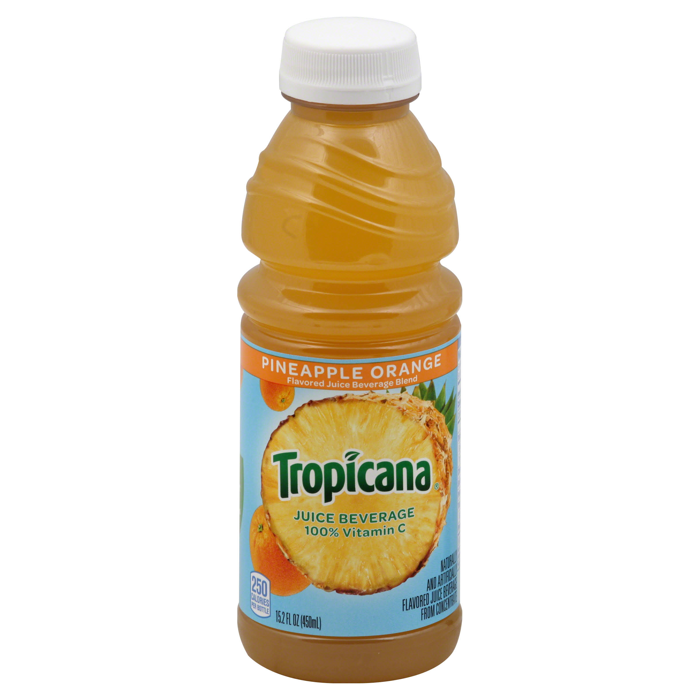 Tropicana Juice - Pineapple Orange, 15.2oz, Pack of 12