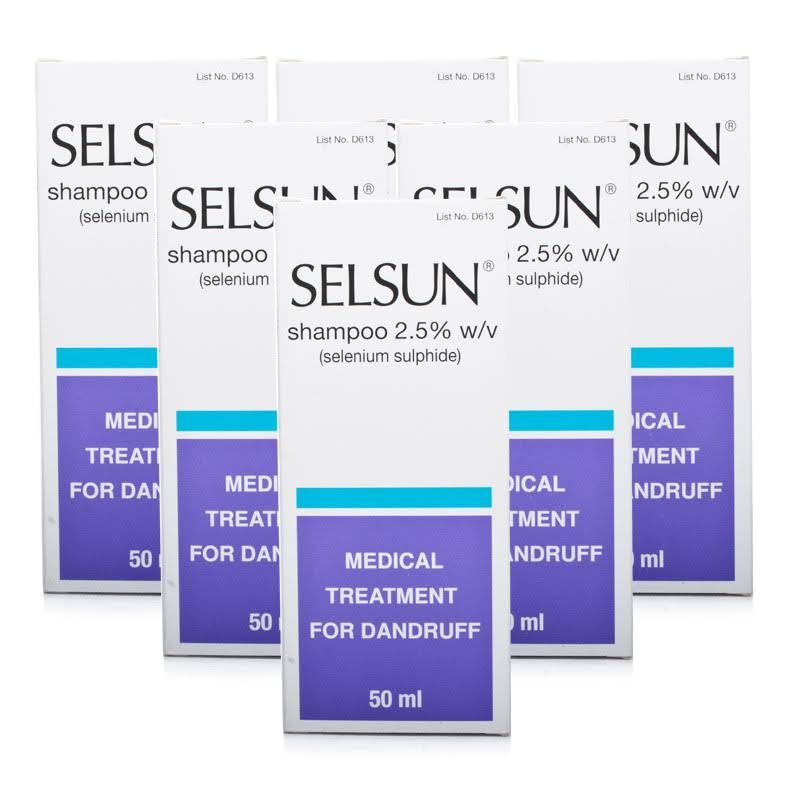 Selsun Medicated Dandruff Treatment Shampoo