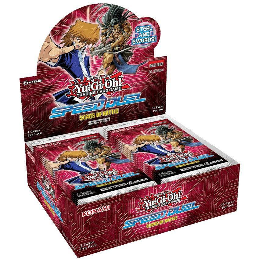 Yu-Gi-Oh! TCG Speed Duel - Scars of Battle Booster Display Box (36)