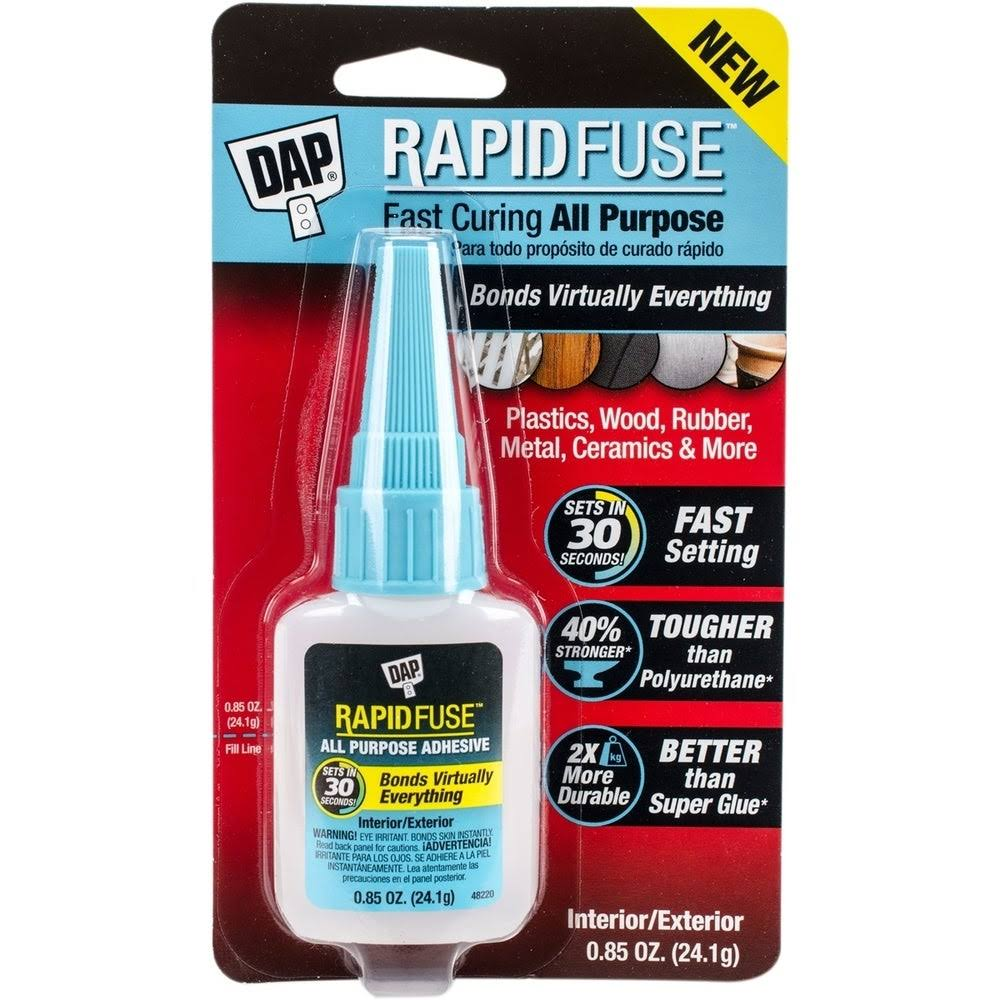 DAP RapidFuse Clear All-Purpose Adhesive