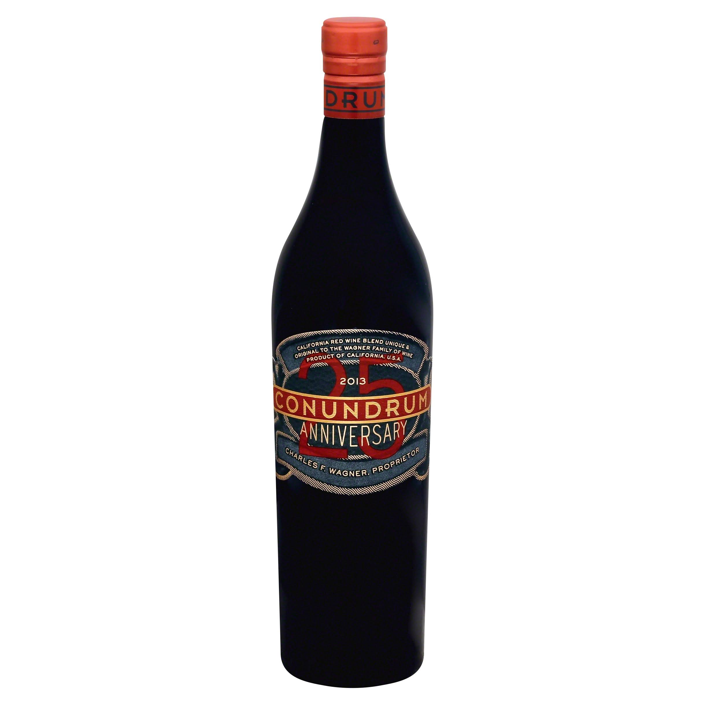 Conundrum 25th Anniversary Red Wine - 750ml