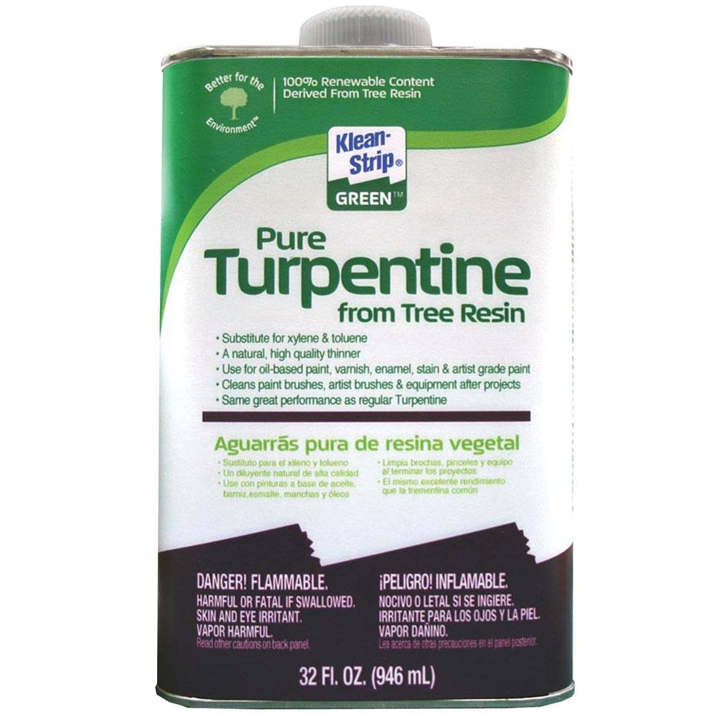 W.M. Barr Klean-Strip Green Turpentine - 946ml