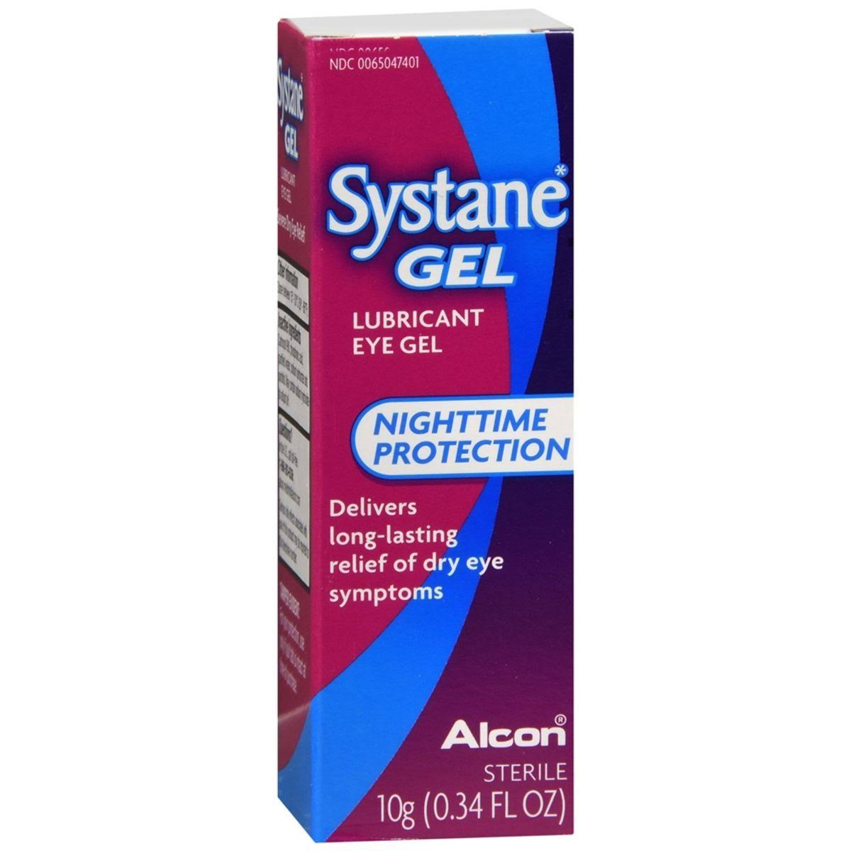 Systane Lubricant Eye Gel - Overnight Therapy, 10ml