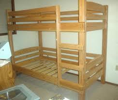diy bunk bed plans bed plans diy u0026 blueprints